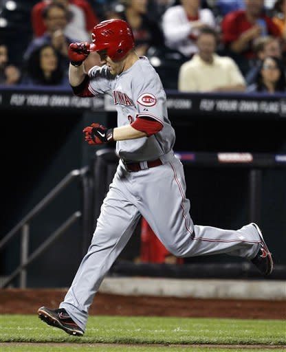 Frazier homers twice, Reds beat Mets 6-3