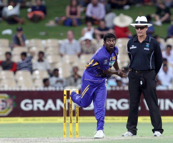 It is not without reason that Muttiah Muralitharan is considered one of the greatest bowlers of all time. Neighbouring nations India and Sri Lanka are known for their batting prowess and whenever both teams have locked horns against each other, runs have come in plenty.Over the years, both teams have also produced several world-class bowlerswho have delivered memorable performances. These bowling stalwarts gave the batsmen a tough time with their skills and on several occasions stole the limelight.We relive some of the fascinating bowling spells that were produced in an India vs Sri Lanka encounter in ODIs.Enter captionIn 1994, on a dry Hyderabad pitch, Mohammad Azharuddin won the toss and invited Sri Lanka to bat first. The visitors knew batting on such track would be a difficult task but they had no idea of Manoj Prabhakar's red-hot form.The Indian pacer first forced Aruna Gunawardenato edge one to the wicket-keeper and then sent back Hashan Tillakaratne for a duck. Prabhakar exploited the conditions effectively and seamed the new ball in dangerous ways.Such was the menace of Prabhakar that Aravinda de Silva, Sri Lanka's premier batsman, lasted for only two deliveries. Roshan Mahanama too perished soon and in no time the visitors were reduced to four down for 31.The skipper Arjuna Ranatunga tried to arrest the damage by counter-attacking. However, he found little help from the other end and Sri Lanka managed to get only 226 runs in their 50 overs.After claiming four wickets in his first spell, Prabhakar returned to send back the dangerous Ranatunga when he was playing on 98. The pace bowler finished the game with a five-wicket haul.In reply, India aced the chase with ease courtesy of fifties from Vinod Kambli and Navjot Singh Sidhu.