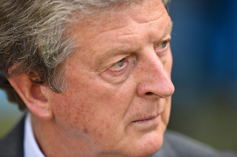 England's coach Roy Hodgson looks on during the Group D football match between Costa Rica and England at The Mineirao Stadium in Belo Horizonte on June 24, 2014