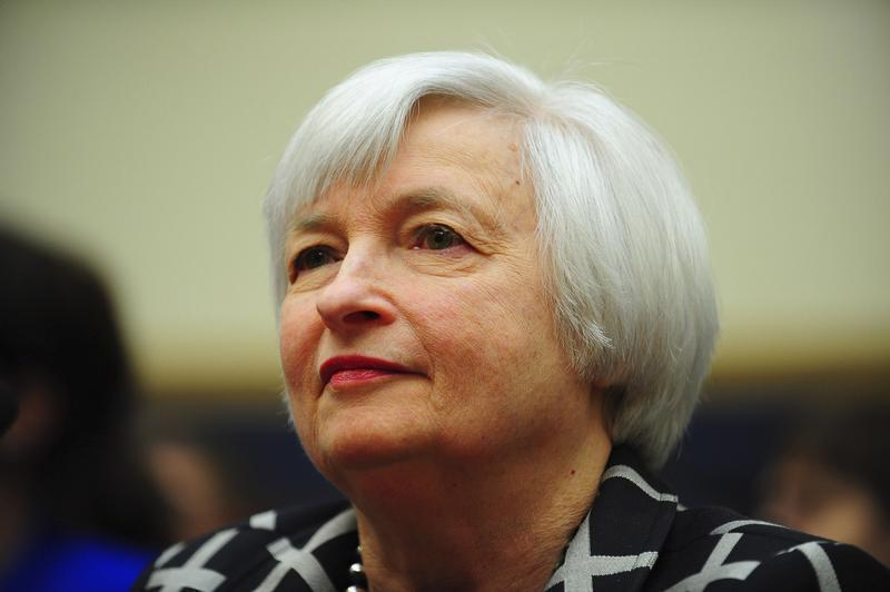"""Federal Reserve Chair Yellen testifies before a House Financial Services Committee hearing on """"Monetary Policy and the State of the Economy."""" in Washington"""