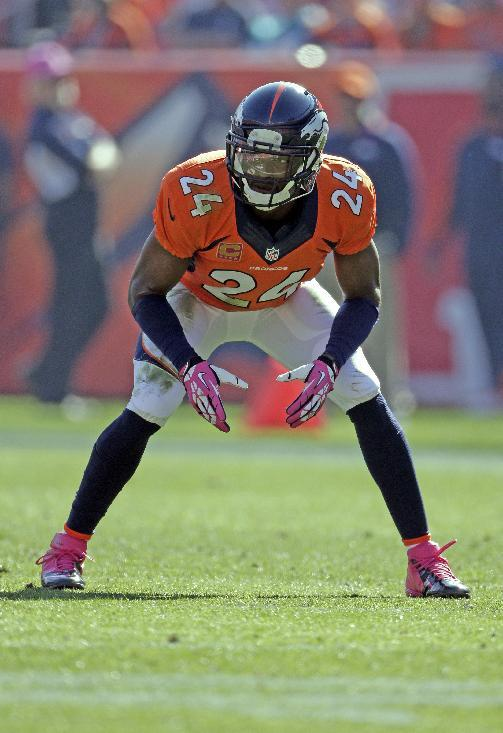 Broncos' Bailey ruled out for Sunday