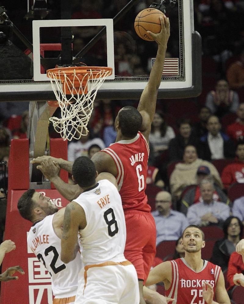 Rockets down Suns 122-108 for 4th straight win