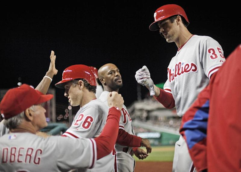 Phillies hold off Nationals for 5-4 win
