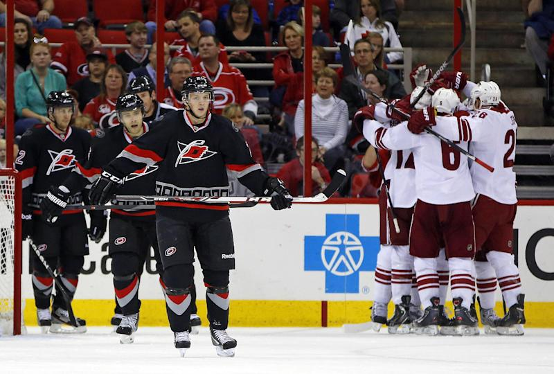 Klinkhammer scores twice to lift Coyotes to win