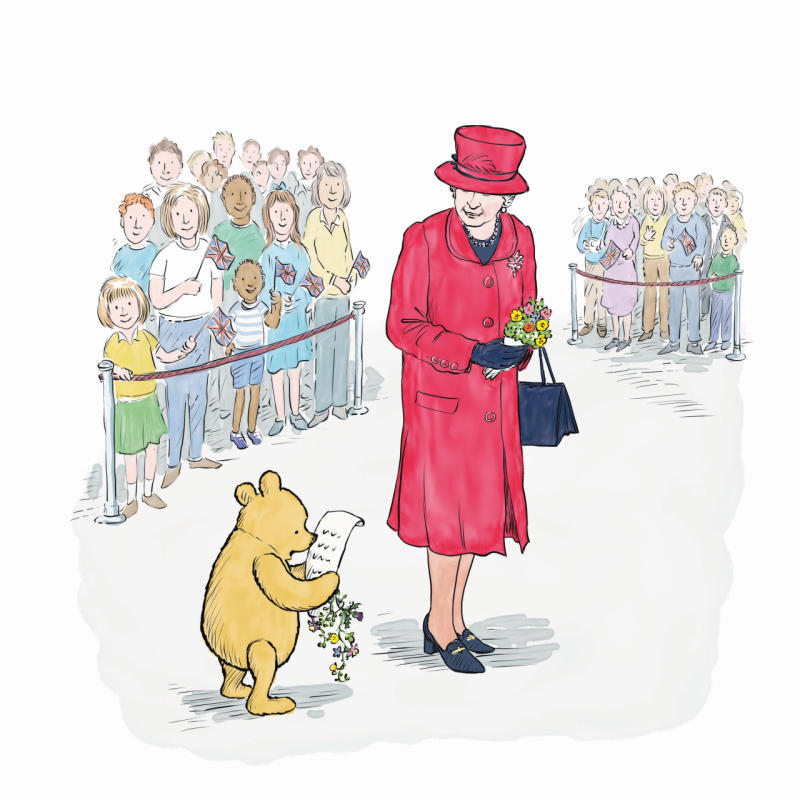 New Winnie the Pooh character added to celebrate 90th anniversary