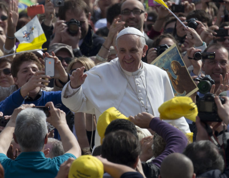 Book of interviews with future pope out April 30