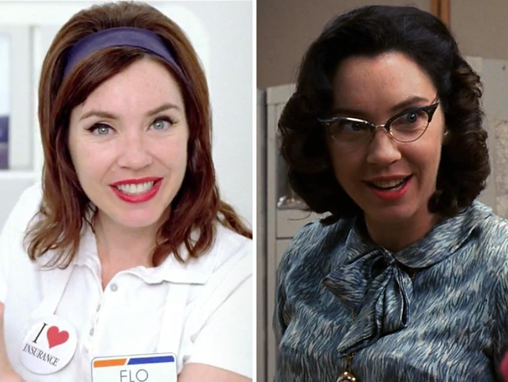 Before she sold us car insurance as Flo the Progressive Lady, Stephanie Courtney answered phones for Sterling Cooper as switchboard operator Marge back in Season 1. She's always all about the customer service, though.