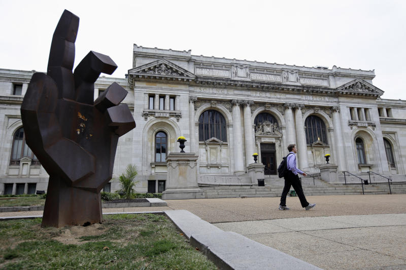 Spy Museum considers move to historic DC library