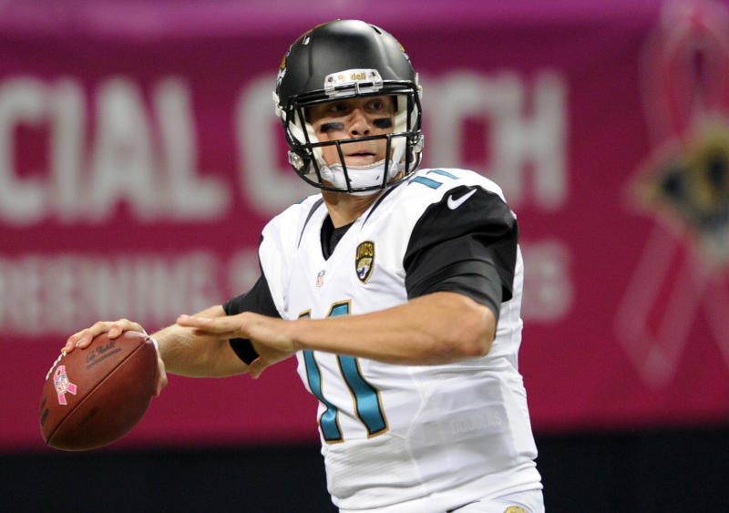 Jaguars QB Gabbert won't play against Broncos