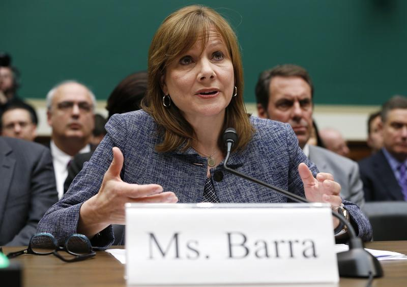 GM CEO Barra testifies before a House Energy and Commerce Committee hearing on Capitol Hill in Washington
