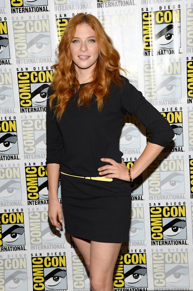 """SAN DIEGO, CA - JULY 20: Actress Rachelle Lefevre attends """"Under The Dome"""" Press Line during Comic-Con International 2013 at Hilton Bayfront on July 20, 2013 in San Diego, California. (Photo by Ethan Miller/Getty Images)"""