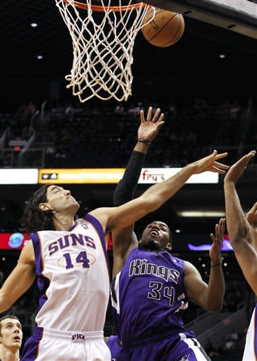 Dudley scores 25, Suns beat Kings 103-88