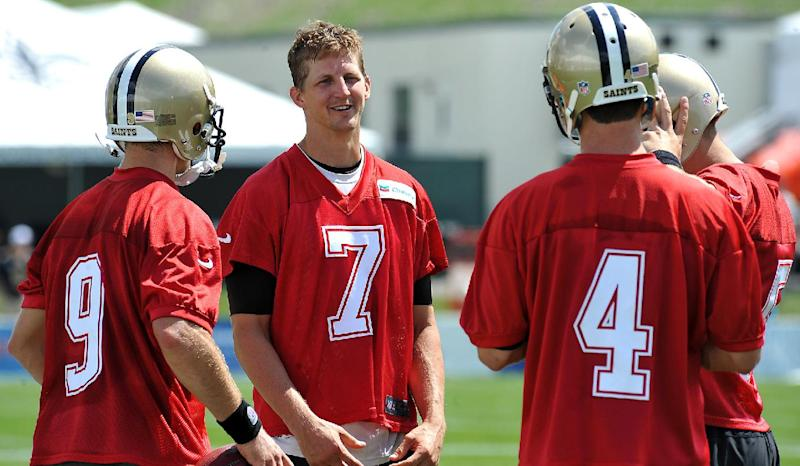 Saints TE Graham returns in form, and with humor