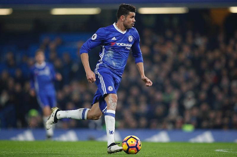 Chelsea's striker Diego Costa was restored to the starting XI by manager Antonio Conte and promptly marked his 100th appearance for the west London club with his 52nd goal