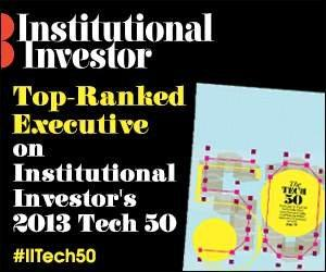 Institutional Investor Announces the Top 50 Executives in Financial Technology