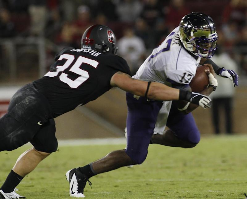 No. 16 Huskies try not to linger on Stanford loss