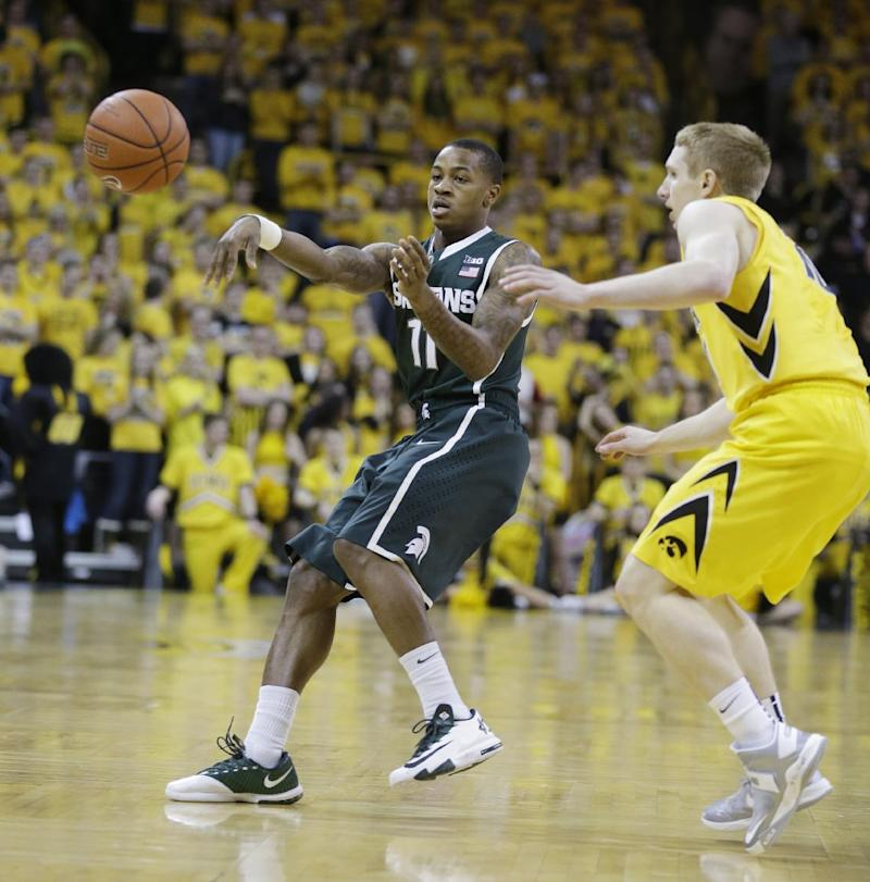 Appling could miss couple weeks for No. 9 Spartans