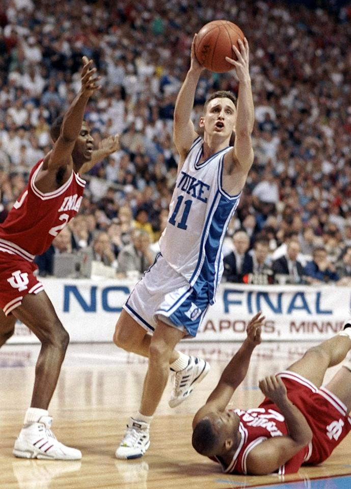 <strong>2. Bobby Hurley</strong> <br /><strong>Why was he hated?</strong> Well, that hairdo, for starters. Plus, he won all the time and he played next to...