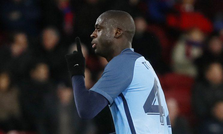 Yaya Toure's agent says he could leave Manchester City for Manchester United