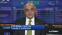 TD Bank CEO: 10% of new accounts through mobile