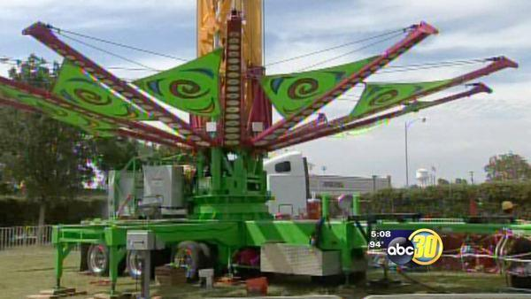 Merced County Fair finishing touches