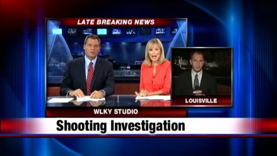 Louisville police investigate shooting near Churchill Downs