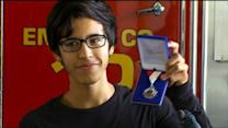 16-Year-Old Hero Awarded For Saving Man's Life