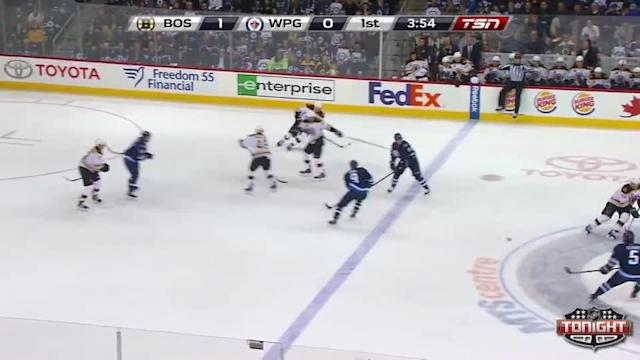 Boston Bruins at Winnipeg Jets - 04/10/2014