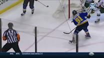 Tarasenko sneaks backdoor for a PPG