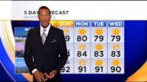 Kaj Goldberg's Weather Forecast (July 25)
