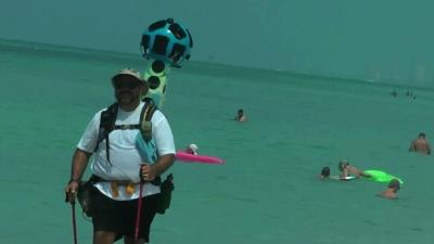Google Mappers Turning Heads on Fla. Beaches