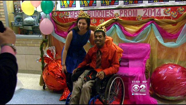 Walter Payton College Prep Holds 'Best Buddies' Prom