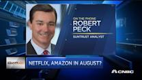 Analyst view: Amazon vs. Netflix
