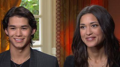 Booboo Stewart And Julia Jones Talk 'The Twilight Saga: Breaking Dawn - Part I' - How Do Seth And Lea Evolve?