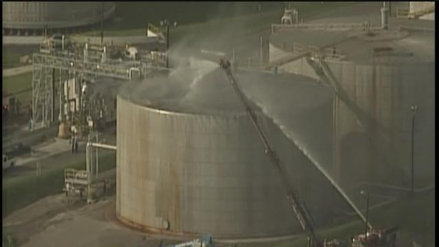 Crews contain Port of Tampa fire again