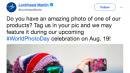 Lockheed Martin's #WorldPhotoDay Tweet Backfires