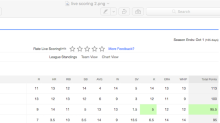 Live stats streaming for baseball among Yahoo Fantasy's new features