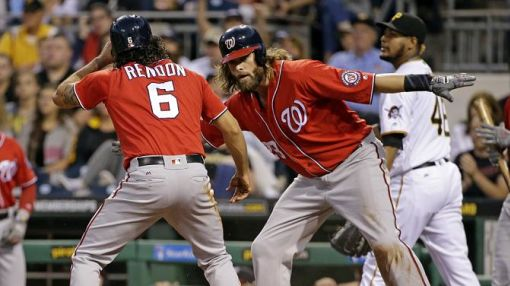 Nationals bounce back from disappointment to win NL East