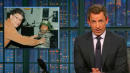 Seth Meyers Calls Out Al Franken For 'Horrifying' Groping Photo