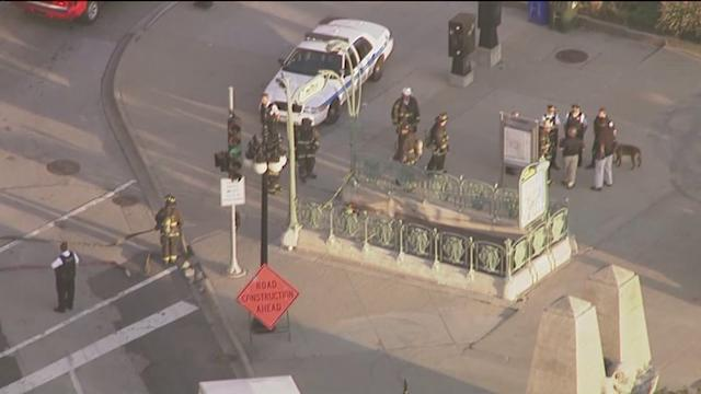 RAW: Police, fire dept on scene of suspicious package on Michigan Ave