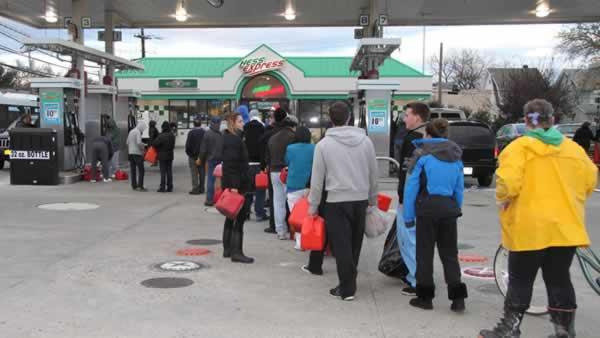 NYC mayor: Gas shortages could go on a few days