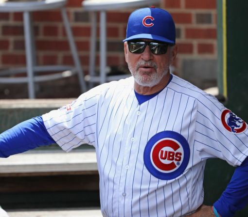 Joe Maddon reacts to Cubs' players' criticism of 'spring training' lineups