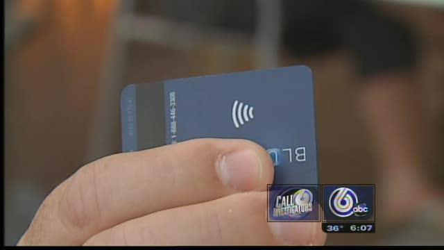 High-Tech Credit Cards Easy Target For Thieves
