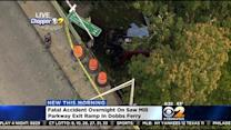 Driver Killed After Car Plunges Off Bridge In Dobbs Ferry