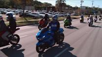 'Chucktown Shutdown': Tense Standoff Between Bikers, Cops