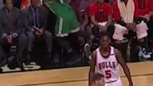 Rajon Rondo fined for trip attempt on Jae Crowder