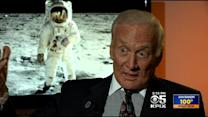 Buzz Aldrin In KPIX Interview Remembers Return To Earth After 1st Lunar Landing