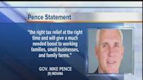 Gov. Pence: 5 percent income tax cut largest in Indiana history