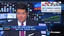 US oil rig count down 11 this week