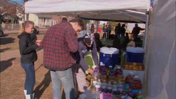Thanksgiving for Staten Island residents impacted by Sandy